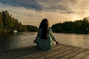 méditation en nature